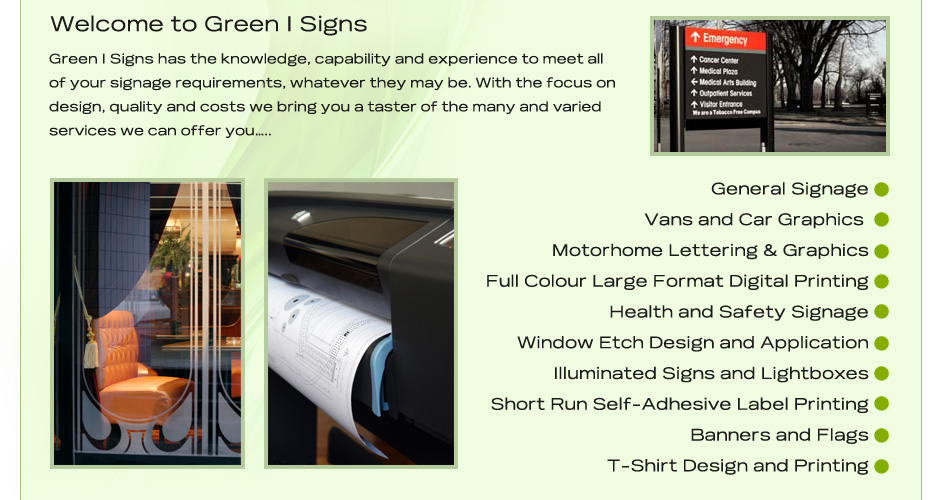 Green-I-Signs